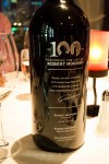 Robert Mondavi wine dinner