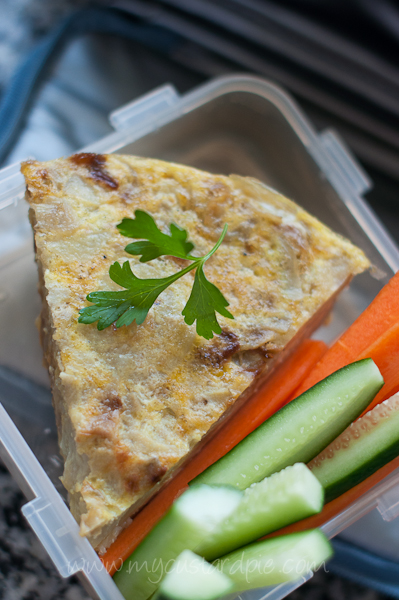 how to cook spanish omelette in the oven