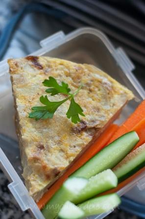Spanish Omelette - My Custard Pie