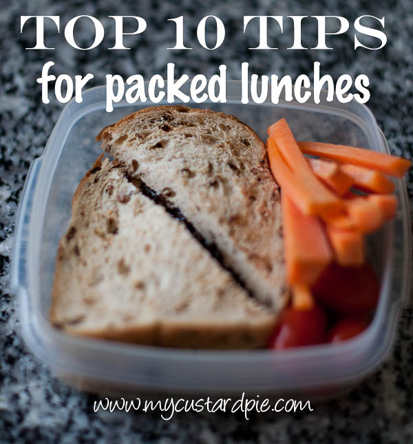 Top 10 tips for packed lunches