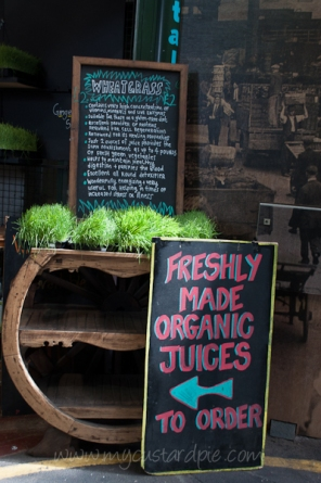 Fresh juice stall