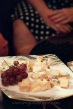 Cheese and wine at Cavalli Club