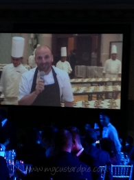 George Calombaris dinner