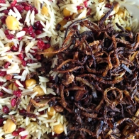 rice with barberries and onions