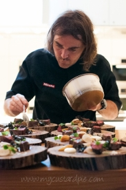 Shannon Bennett dinner at Miele