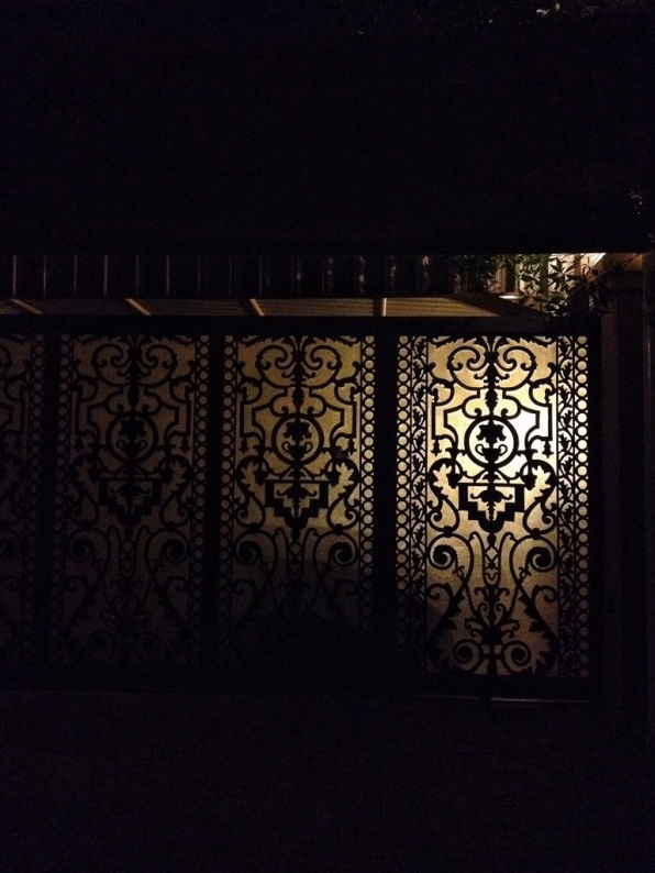 Arabic gate