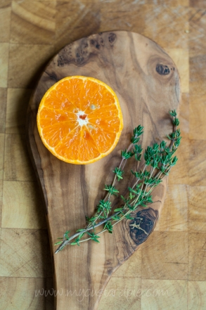 orange and thyme