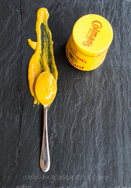 Devilled rib bones - mustard