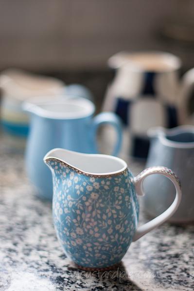 Blue jugs