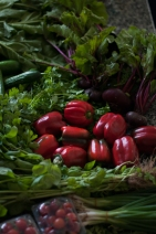Vegetables from the Farmers Market Dubai -
