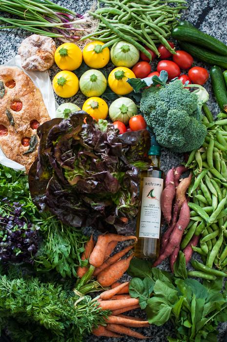 Vegetables from the Farmers Market Dubai