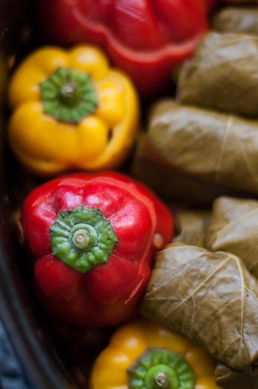 Stuffed veg