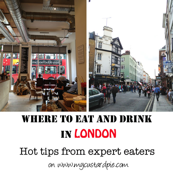 Where to eat and drink in London