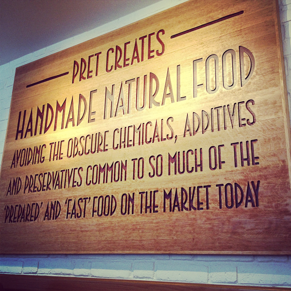 sign in pret