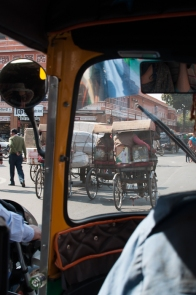 View from a tuk tuk