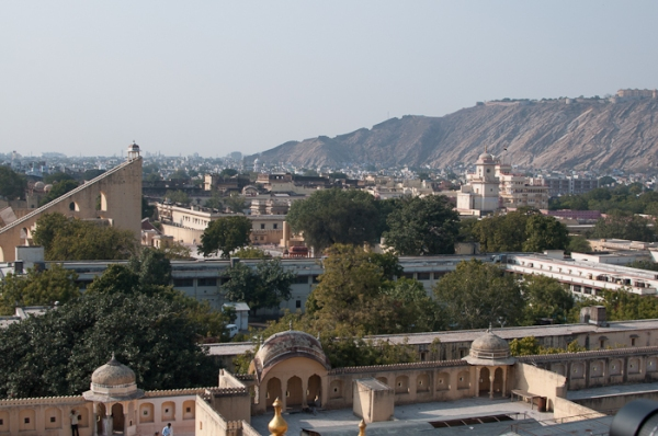 View from Hawa Mahal