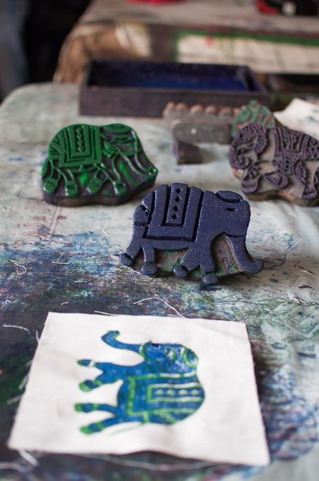 hand block printing