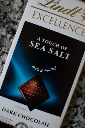 Lindt sea salt