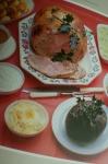 Boned turkey dinner