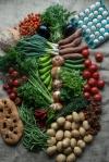 organic veg from farmers market dubai