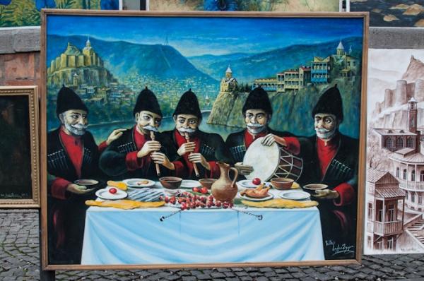 Tbilisi flea market