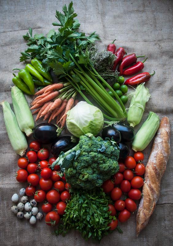 Local, organic veg - www.mycustardpie.com