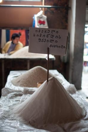 Flour Tbilisi market Georgia - My Custard Pie