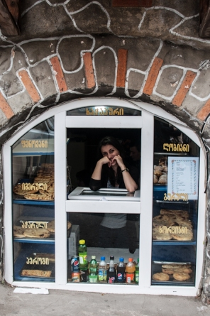 Bakery in Tbilisi, Georgia on My Custard Pie
