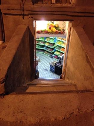 Basement supermarket, Tbilisi,Georgia - My Custard Pie