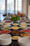Breakfast spread at Kvareli Eden