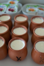 Type of set yoghurt for breakfast Hotel Kabadoni