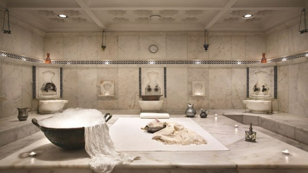 The hammam at the Ciragan Palace Kempinski in Istanbul. Review by www.mycustardpie.com