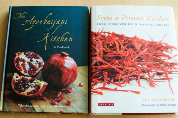 Iranian and Azerbaijani cookbook reviews - www.mycustardpie.com