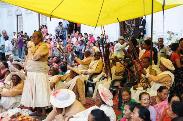 A Hindu festival in Kathmandu - mycustardpie.com