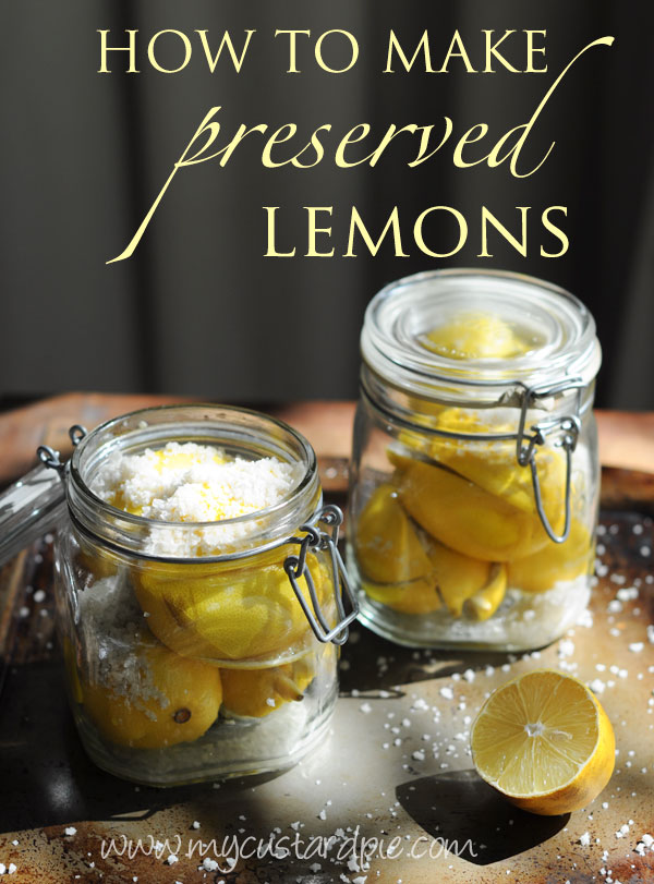 how to use preserved lemons