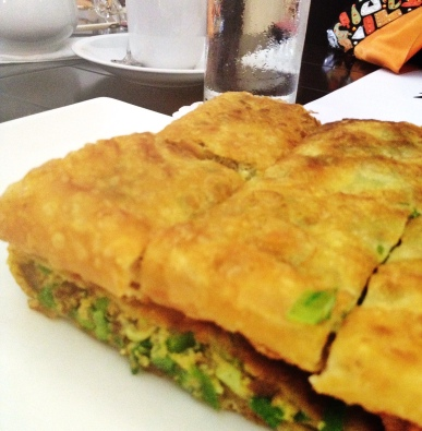 Murtabak telor - Wok It - mycustardpie.com