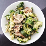 Courgette-salad