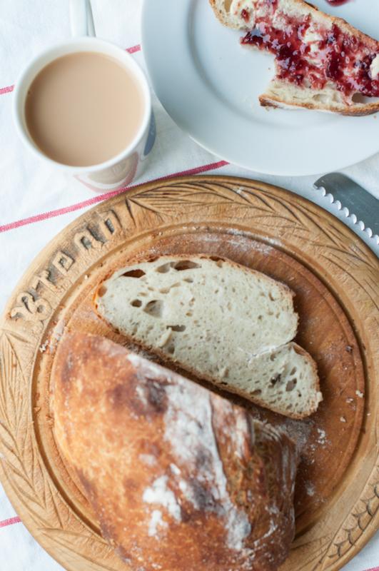 No knead bread - mycustardpie.com