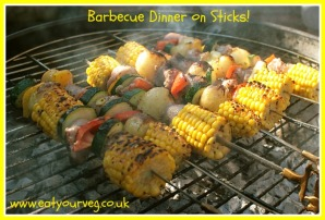 Barbie-tastic Dinner on a Stick!