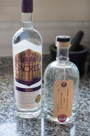 Gin in my kitchen - mycustardpie.com