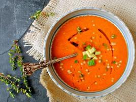 Intense tomato soup