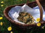 Swiss Chard, Mushroom and Potato Frittata