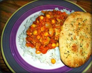Turkey & Chickpea Curry