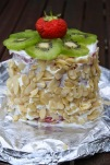 Watermelon fake cake by Caroline Makes