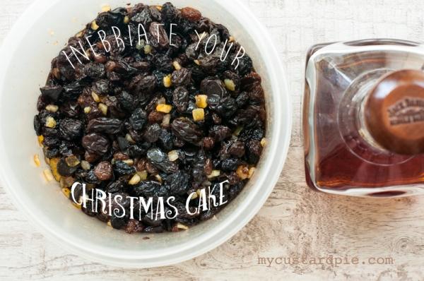 Christmas cake fruit soak -  mycustardpie.com