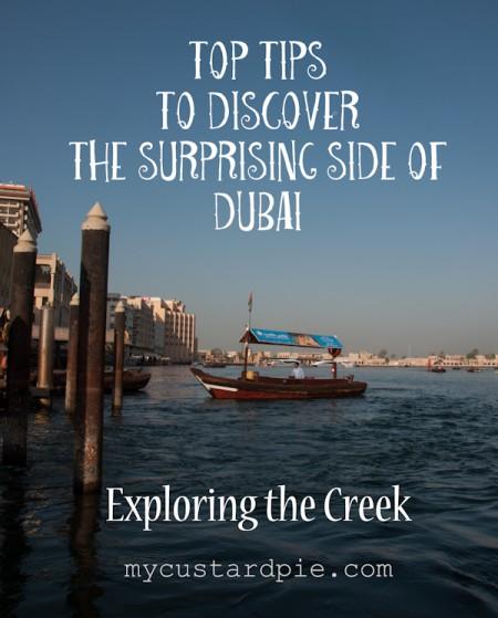Top tips on exploring the Dubai Creek - MyCustardPie.com