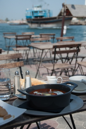 Creekside cafe - Visiting Dubai Creek - MyCustardPie.com