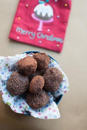 Chocolate truffles - MyCustardPie