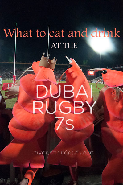 What to eat and drink at the Rugby 7s - mycustardpie.com