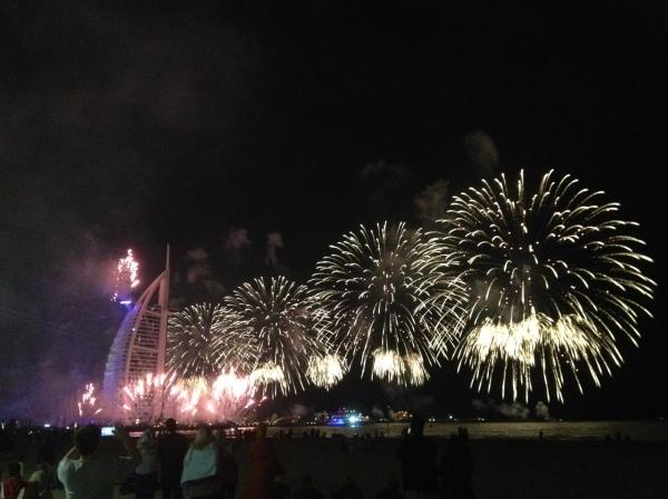 Burj Al Arab National day fireworks